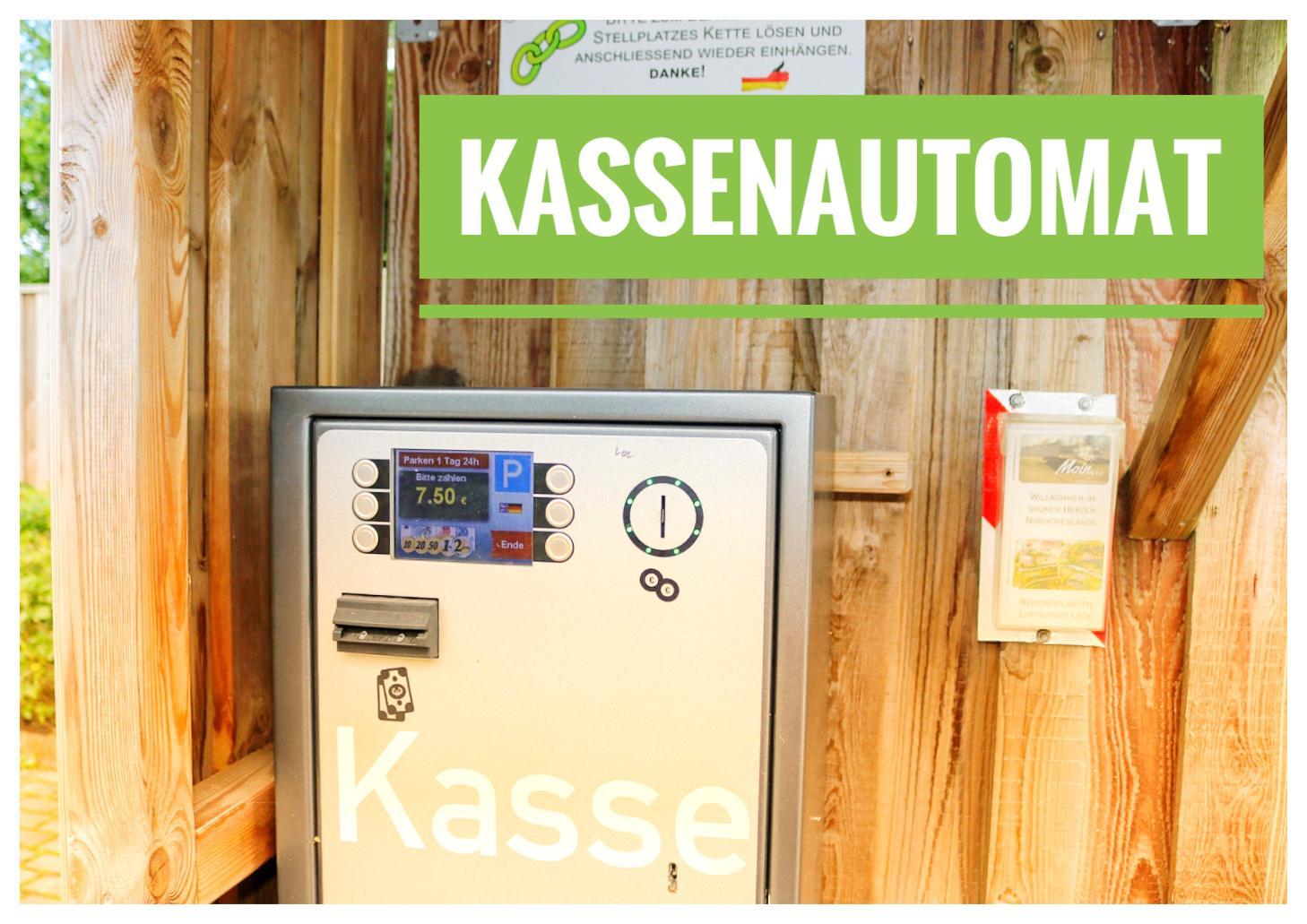Kassenautomat am Platz